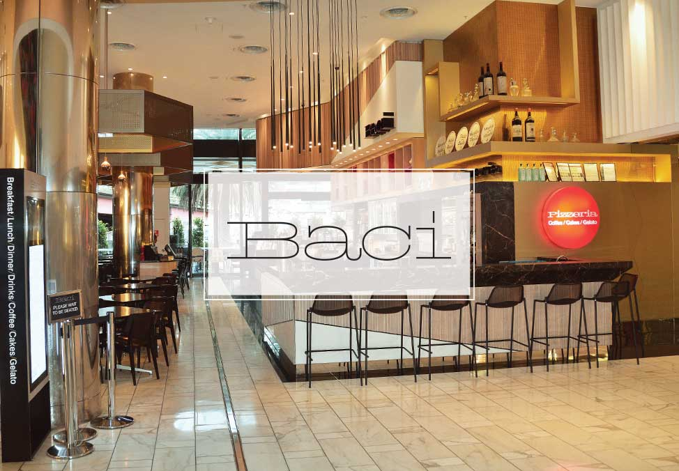 Melb Restaurants Casual CafeBaci Restaurant