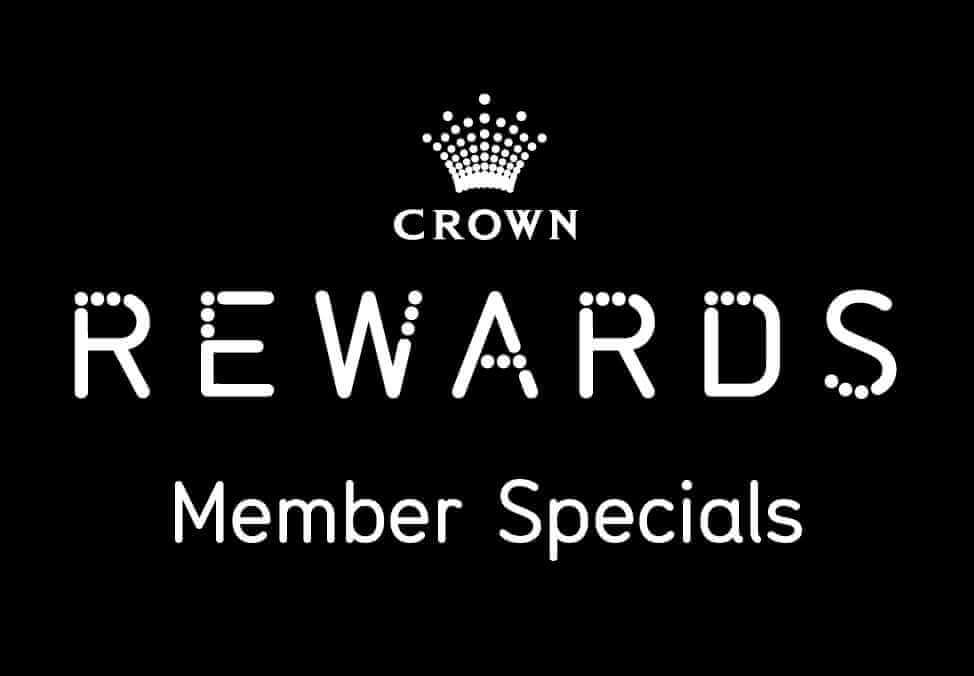 Crown Rewards Member Specials - Crown Melbourne