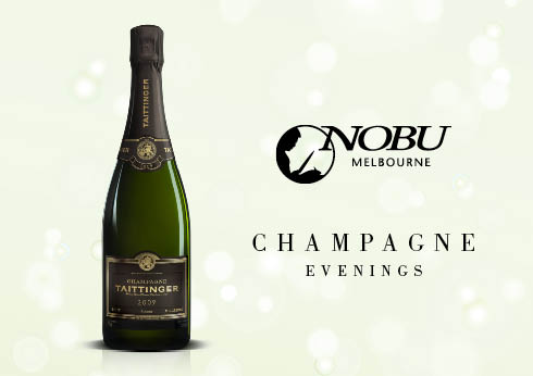 Crown Melbourne Restaurants Experience Champagne Evenings at Nobu