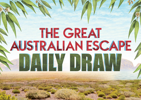 The Great Australian Escape Daily Draws - Crown Melbourne