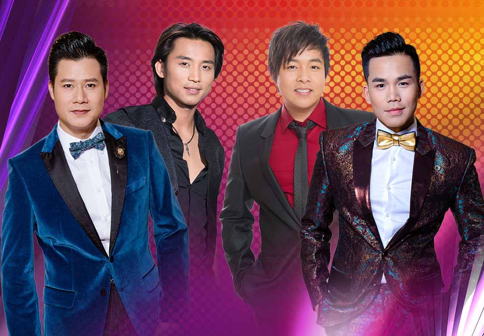 Paris By Night Male Stars promoting Vietnamese culture 2018