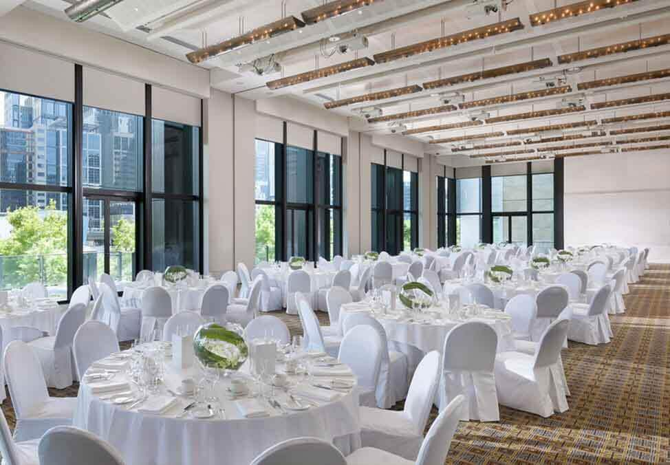 Melb EventsFunctions Venues RiverRoom Tables
