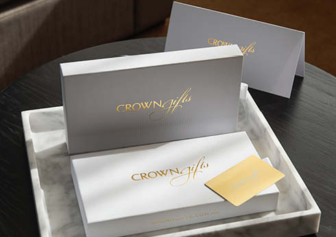 Crown Melbourne Retail Shopping Complimentary Shipping