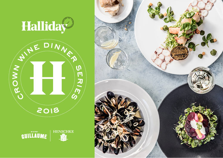 Halliday Crown wine dinner series