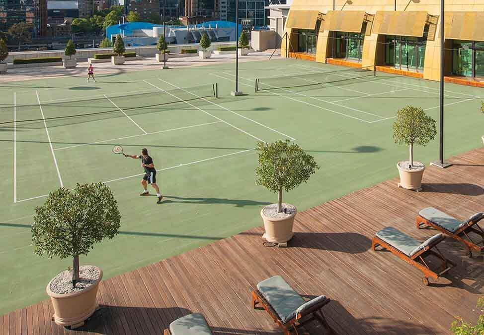 Melb Hotels CrownTowers Facilities TennisCourt