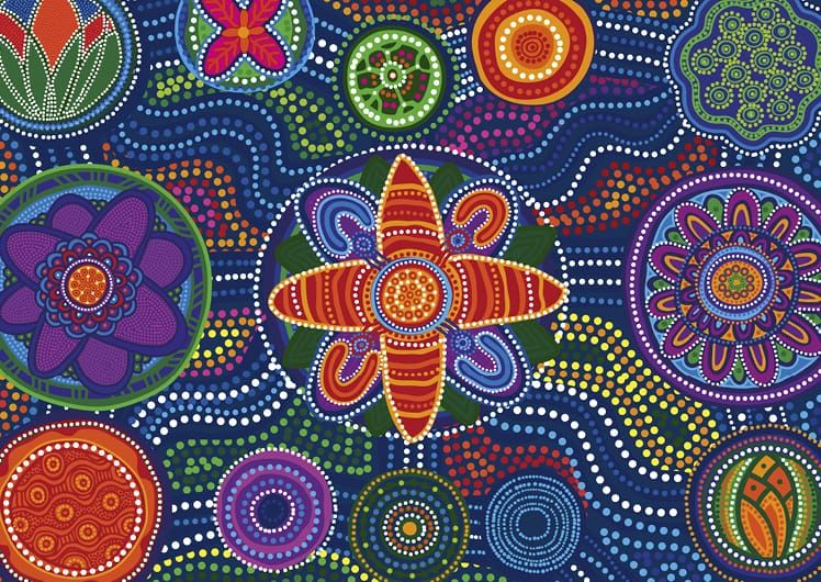Indigenous Employment Program artwork acknowledgement to country