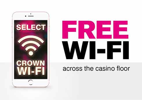 Free Wi-Fi Across the Casino Floor - Crown Melbourne