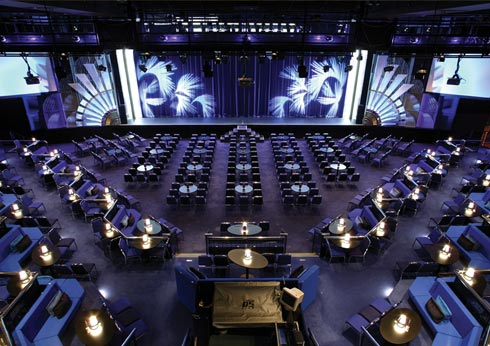 The Palms Crown Seating