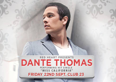 Red Heart – Dante Thomas Performing Live at Club 23 Crown Melbourne