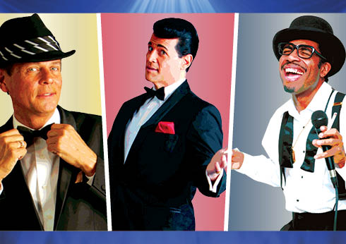 Rat Pack from Vegas performs at The Palms, Crown Melbourne