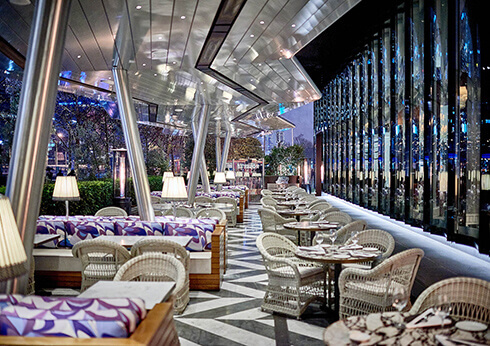 Alfresco Dining at Rosetta - Restaurants | Crown Melbourne