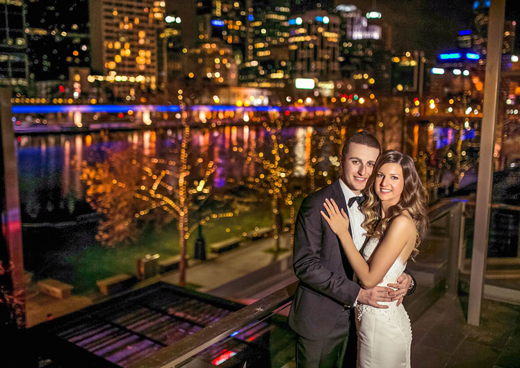 Michelle & Terry - Wedding Photos | Crown Melbourne