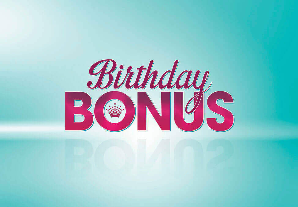 Crown Melbourne Birthday Bonus Offer
