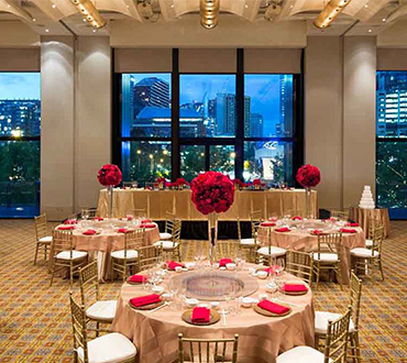 Crown Melbourne Weddings Classic Asian Package