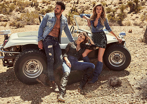GUESS Desert Dreams Campaign available at Crown Melbourne