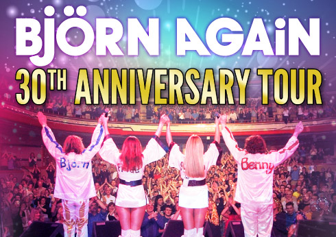 Björn Again ABBA 30th Anniversary Tribute The Palms at Crown