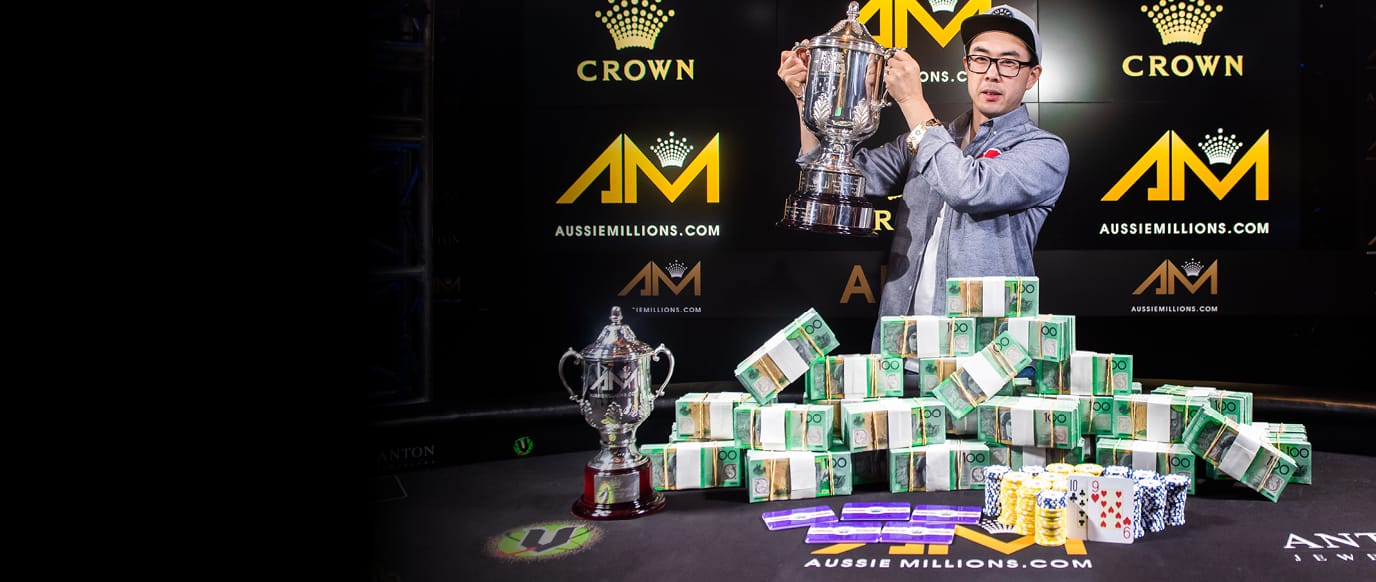 2020 Aussie Millions Main Event Winner