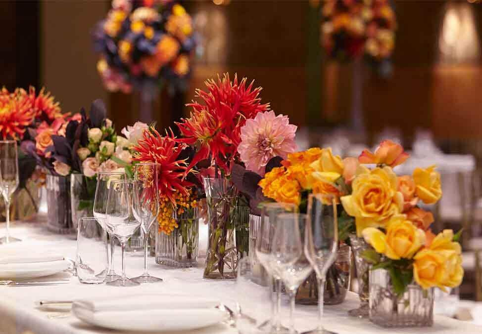 Melb EventsFunctions Offering Theming Table