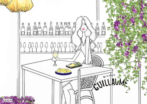 Bistro Guillaume Afternoons on the Terrace illustration
