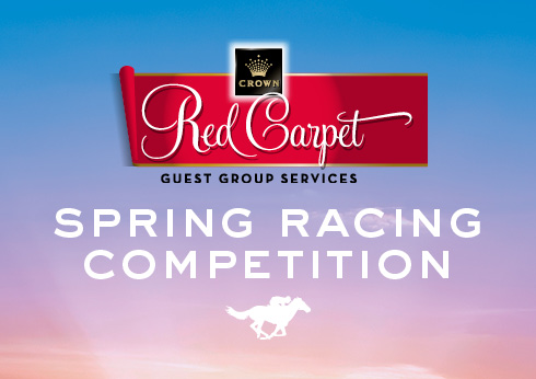 Red Carpet Spring Racing Competition | Crown Melbourne