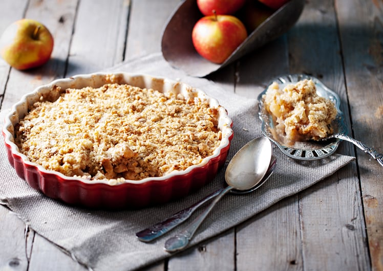OVB'S SIGNATURE APPLE CRUMBLE