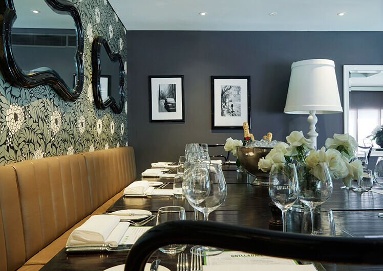 Private Dining at Bistro Guillaume