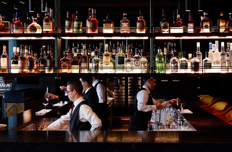 The Bar at Dinner by Heston Blumenthal