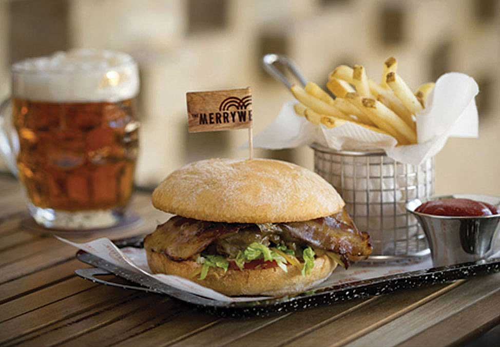 Melb Restaurants Casual TheMerrywell Burger