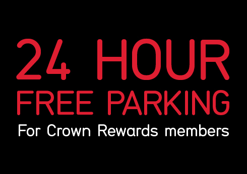 24 hour free parking at crown melbourne