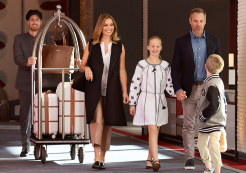 Crown Melbourne Hotels Promenade Summer Packages Family Getaway mobile