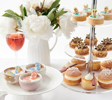 French Riviera Delight Afternoon Tea at Conservatory