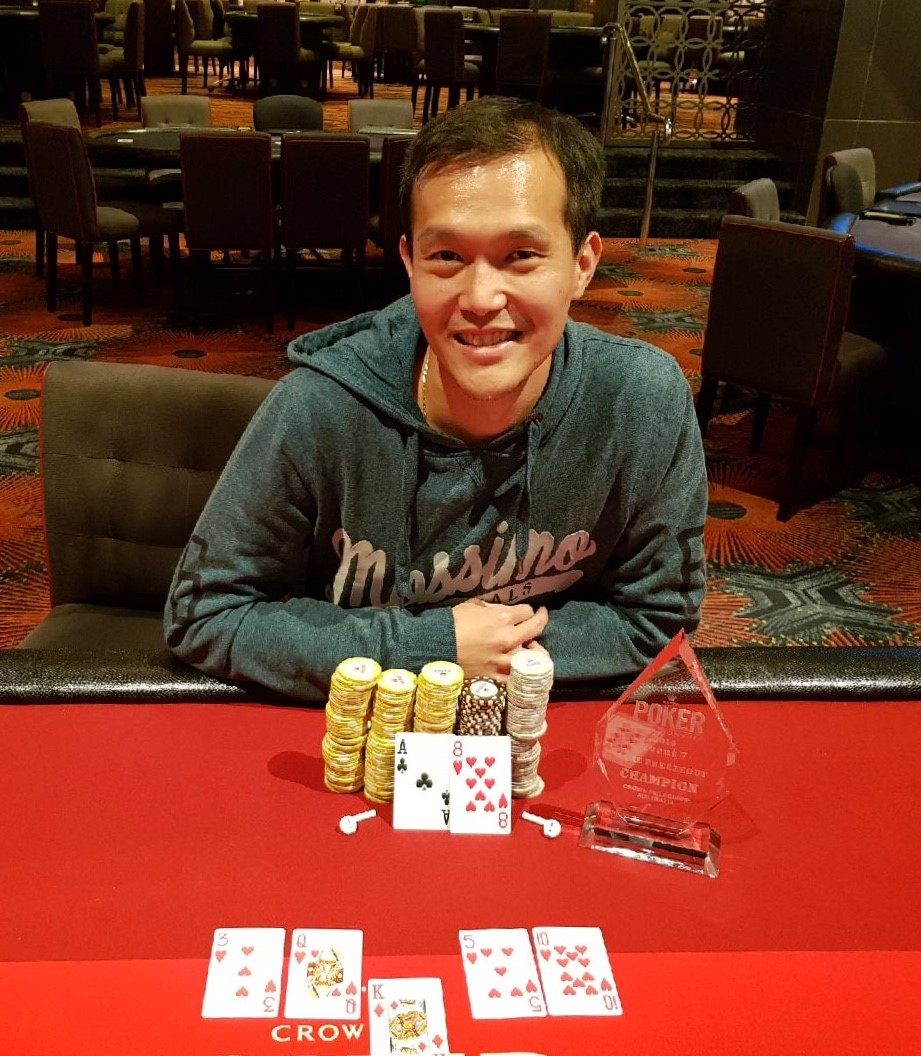Crown Poker Results