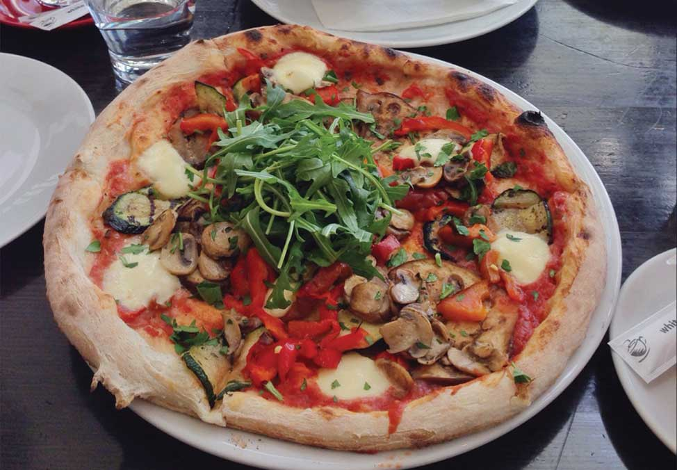 Melb Restaurants Casual CafeBaci Pizza