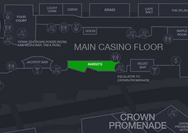 Map crown casino boomtown hotel and casino bossier city la