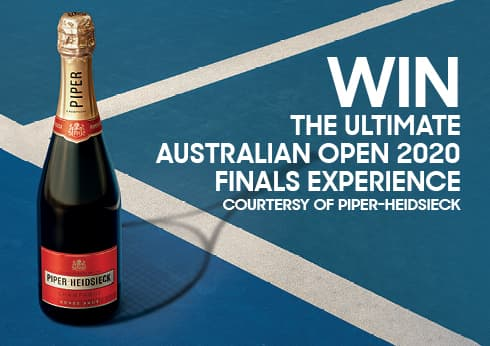 Win the ultimate Australian Open experience