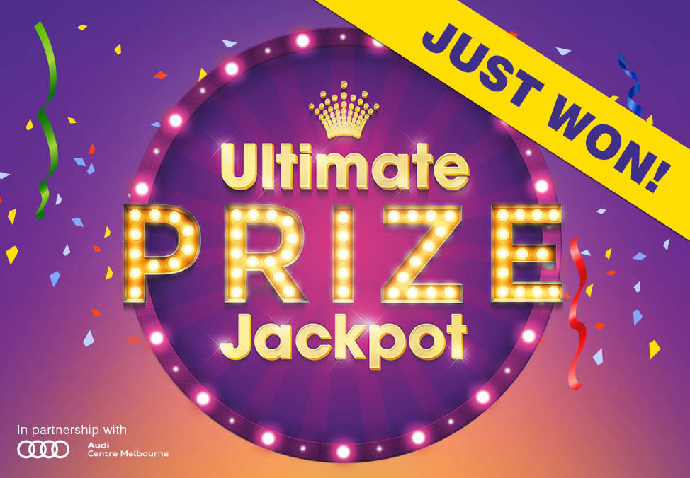 Logo - Ultimate Prize Jackpot Winner - Crown Melbourne