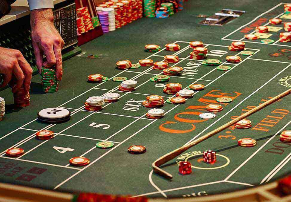Melb Casino CasinoGames Craps Table
