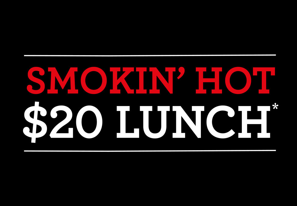 Crown Melbourne Restaurants San Antone Smokin' Hot $20 Lunch