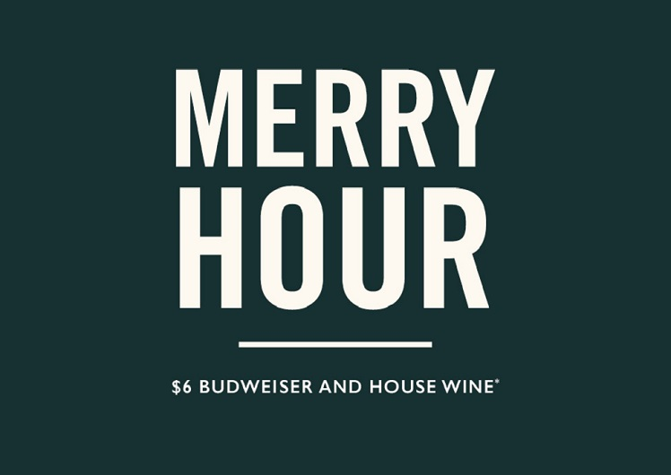 End of Day Social Merry Hour at Merrywell Bar