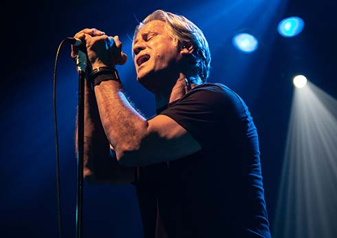 Jon Stevens The Noiseworks INXS Collection performing on stage at the palms crown
