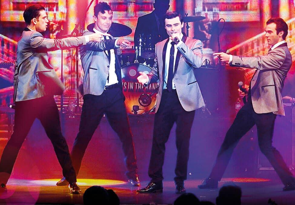 Crown Melbourne Entertainment Concerts Boys In The Band - Jukebox Legends