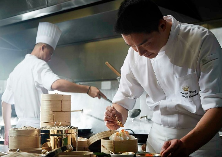 Bernard Kong Kok Weng - Silks chef at Crown Melbourne