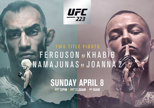 UFC 223 at lagerfield
