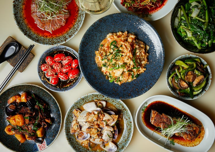 lunar new year dining at Spice Temple