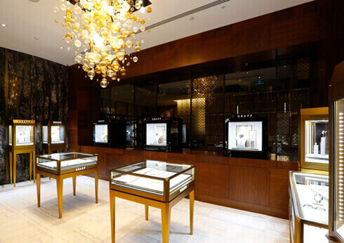 Retail Shopping Luxury Graff Diamonds
