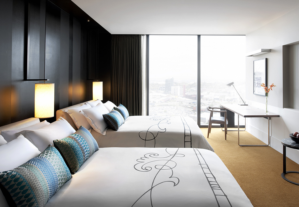 Crown Metropol Melbourne Guest Room