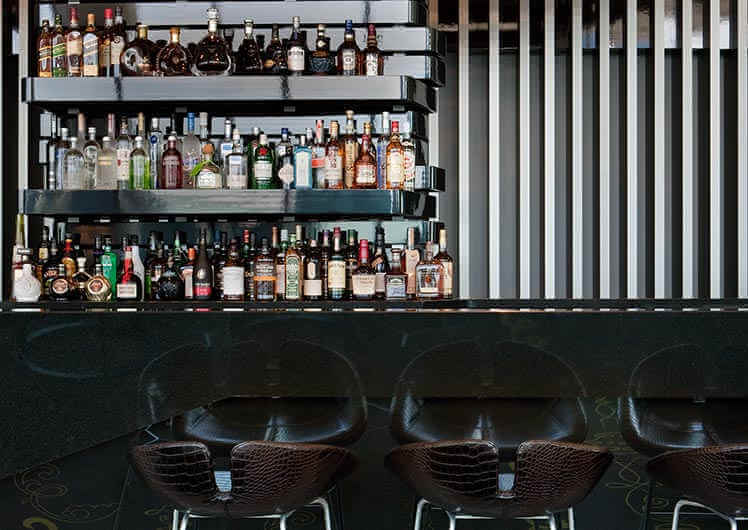 Boutique beers, local wines and exclusive cocktails at 28 Sky Bar
