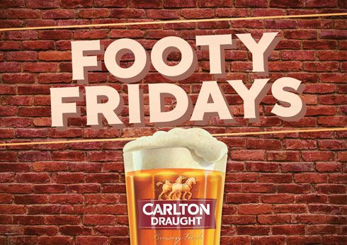 Footy Fridays at Lagerfield