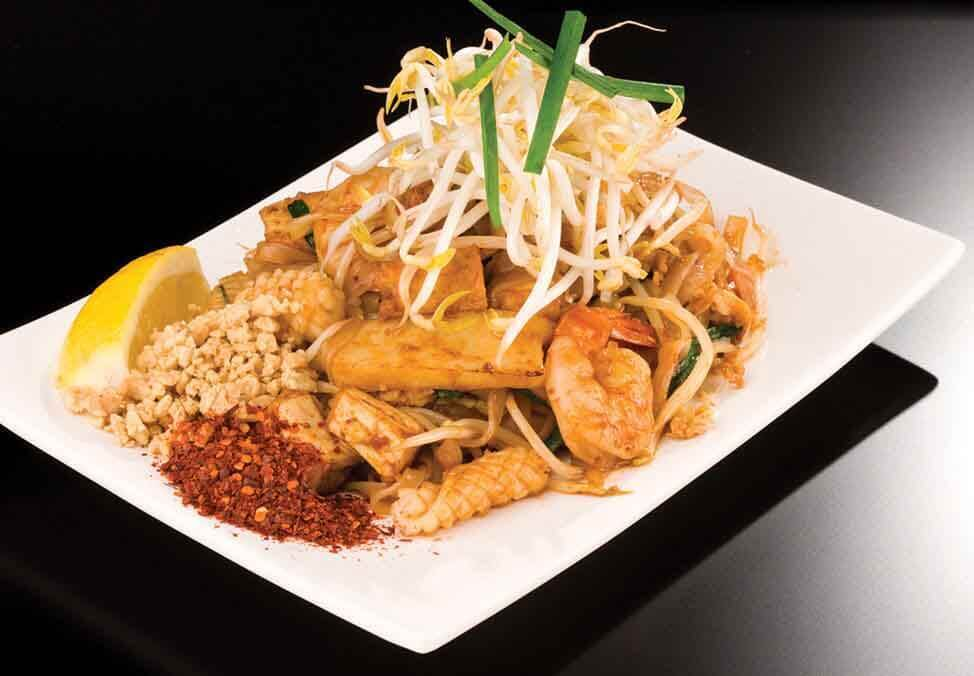 Melb Restaurants Food Court Think Asia PadThai Quad Image