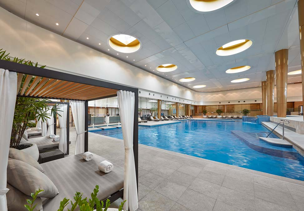 Melbourne Hotels Crown Towers Facilities Indoor Pool